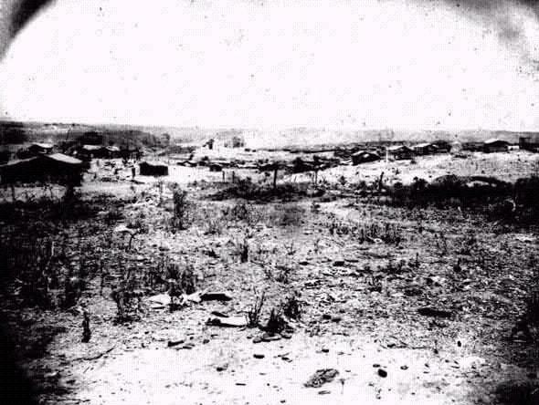 Vista geral de Canudos - foto Flávio de Barros