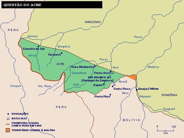 Tratado de Petrópolis - Acre