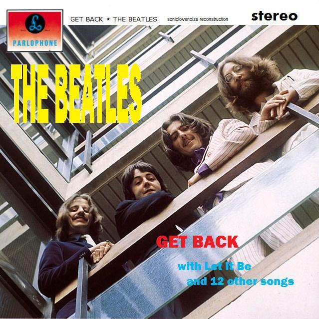 Capa original dos Beatles - álbum Get Back