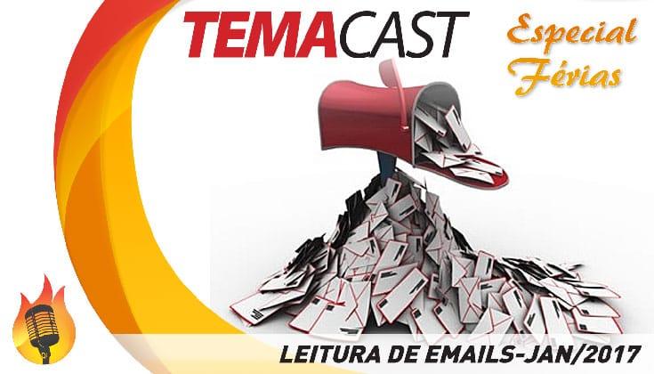 Temacast Especial de Férias – leitura de emails