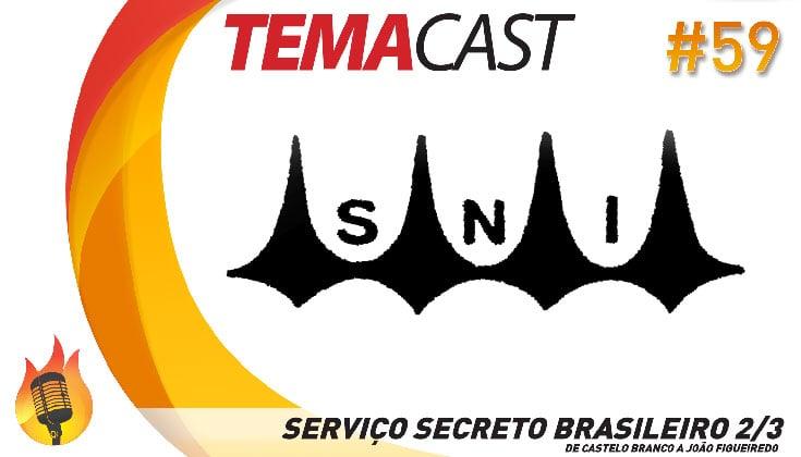 Temacast #59 – Serviço Secreto Brasileiro 2/3