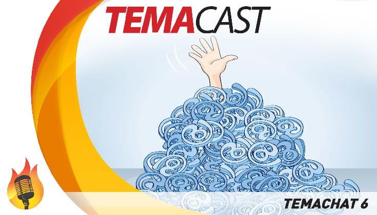 Temachat #6 – Temacast especial com leitura de email e comentários