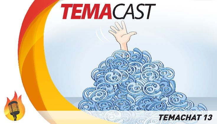Temachat #13 – Temacast especial com leitura de email e comentários
